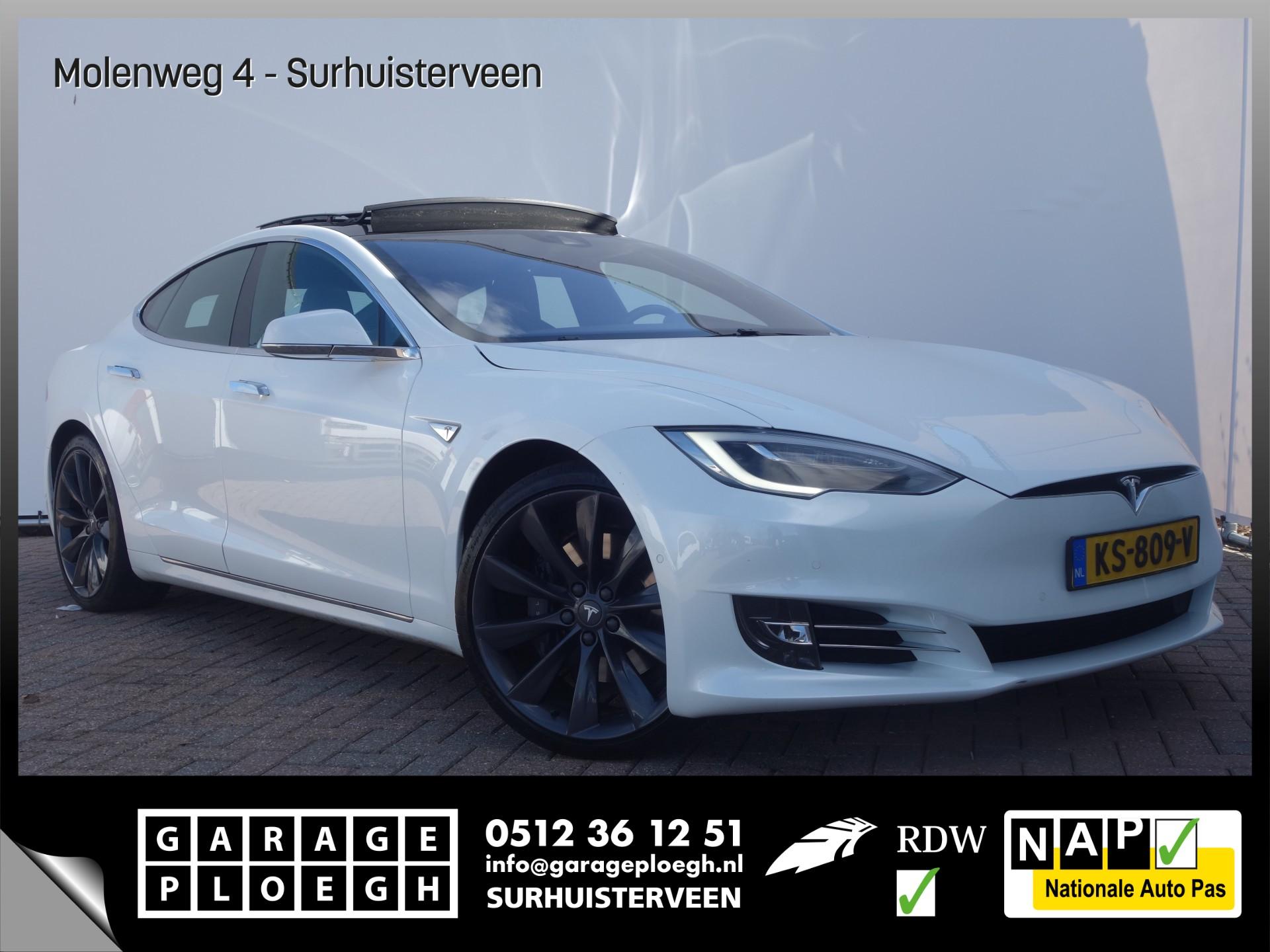 Tesla Model S 90D 4x4 Free Charge Autopilot Luchtvering Facelift