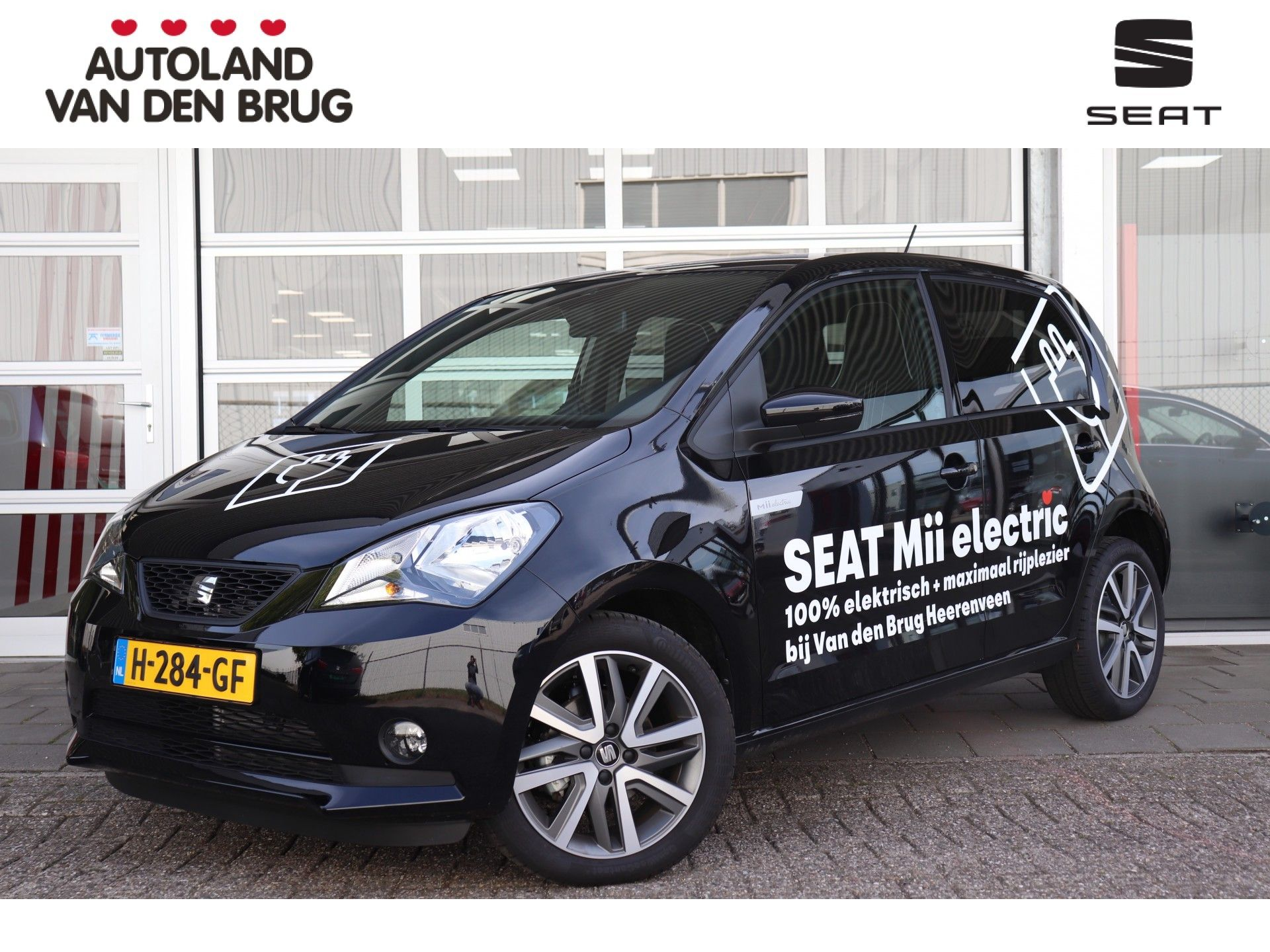 "Seat Mii Electric Plus | 260km WLTP* | Winter Pack | Technology Pack | 16"" Bijna €5000 voordeel!"