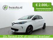 Renault Zoe R110 Bose 41 kWh (ex Accu) | Leer | Camera