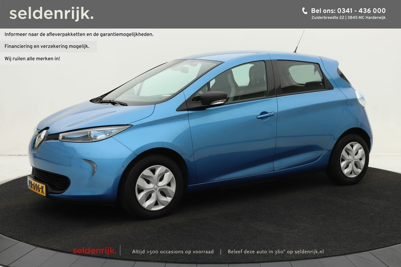Renault Zoe Q90 Life QuickCharge 40 (Excl. accu) | Navigatie | Climate control | Cruise control | Standkachel | *All in Prijs*