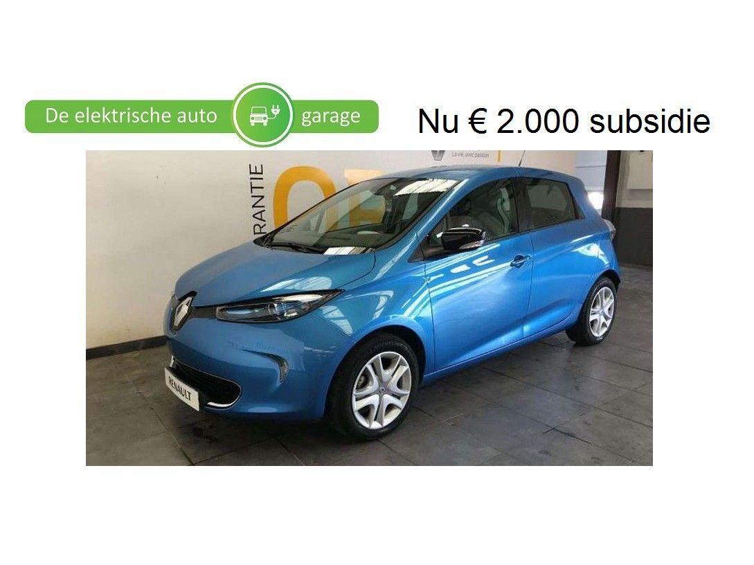 Renault Zoe 41 kWh (ex Accu) ZEN incl BTW 13250