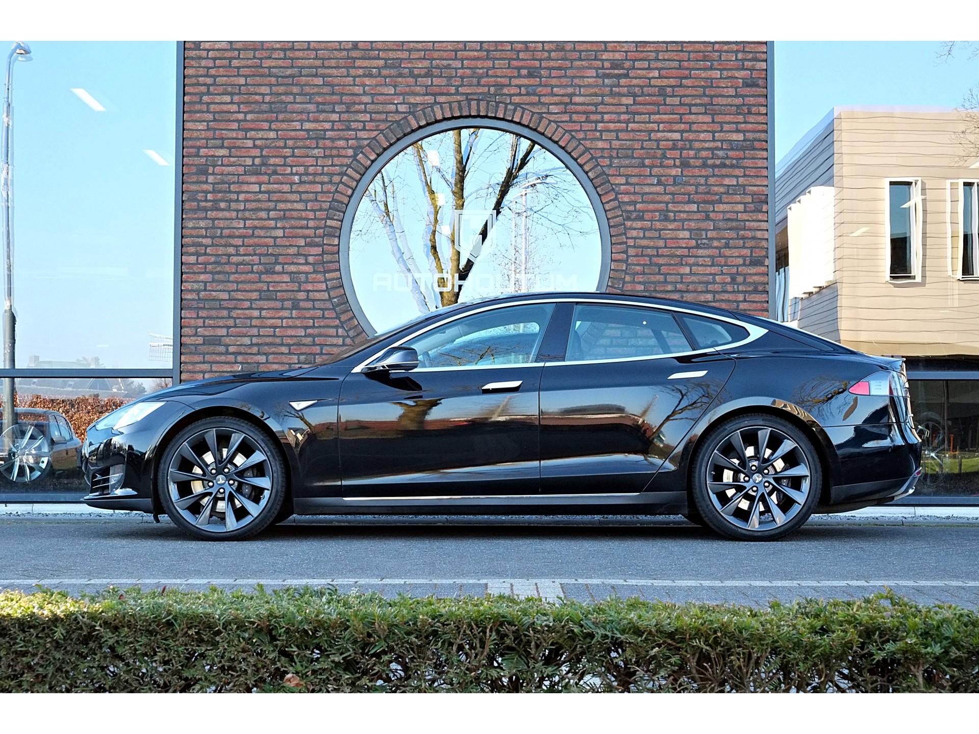 Tesla Model S 85 Luchtvering, 21 inch, Panoramadak, Leder