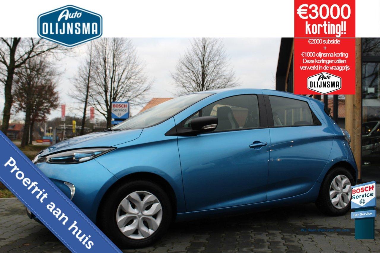 RenaultZoe - 41 kWh Life|Clima|Bluetooth|Accuhuur|€2000 Subsidie