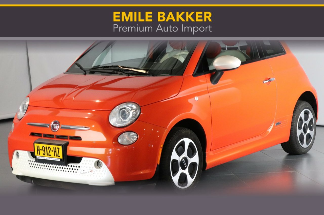Fiat500 - 500E SPORT INCL.. KORTING 2000, -