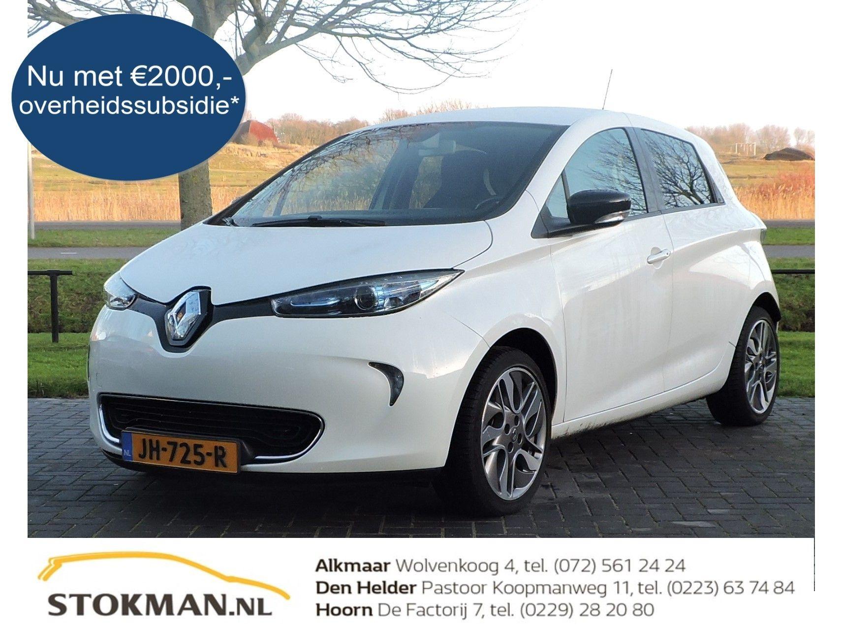 Renault Zoe Q210 Intens Quickcharge 41 kWh accu |(batterijhuur) | NU MET € 2000,- OVERHEIDSSUBSIDIE* | RIJKLAARPRIJS INCLUSIEF AFLEVERPAKKET T.W.V. € 695,- |
