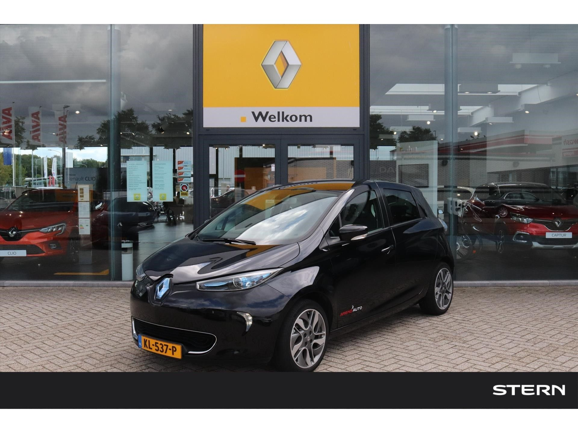 Renault Zoe Intens Q210 |Camera|17'inch|Batterij huur|Navi|