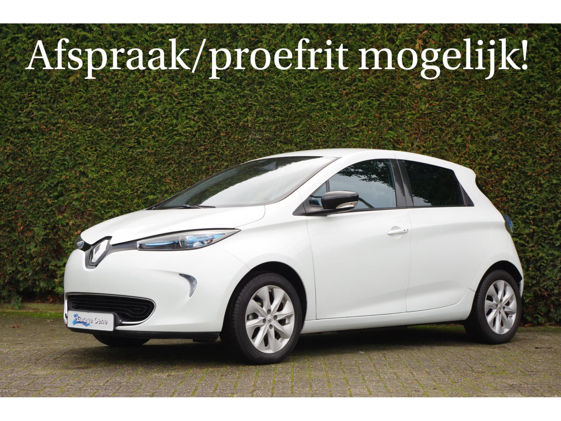 RenaultZoe - Q210 Zen Quickcharge 22 kWh (ex Accu) €2000, - Overheidsubsidie
