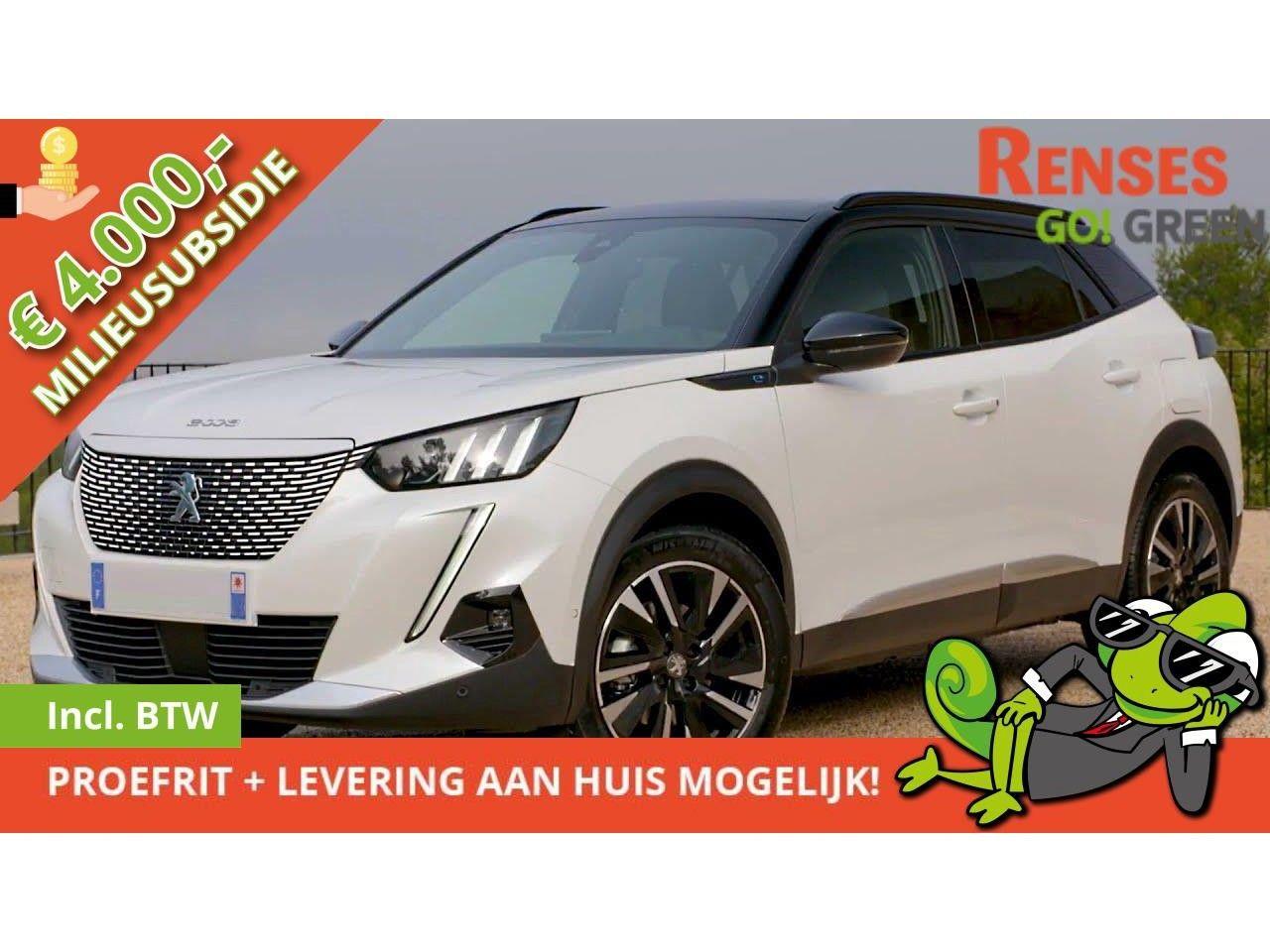 Peugeot 2008 e-2008 *augustus levering* EV 50kWh GT