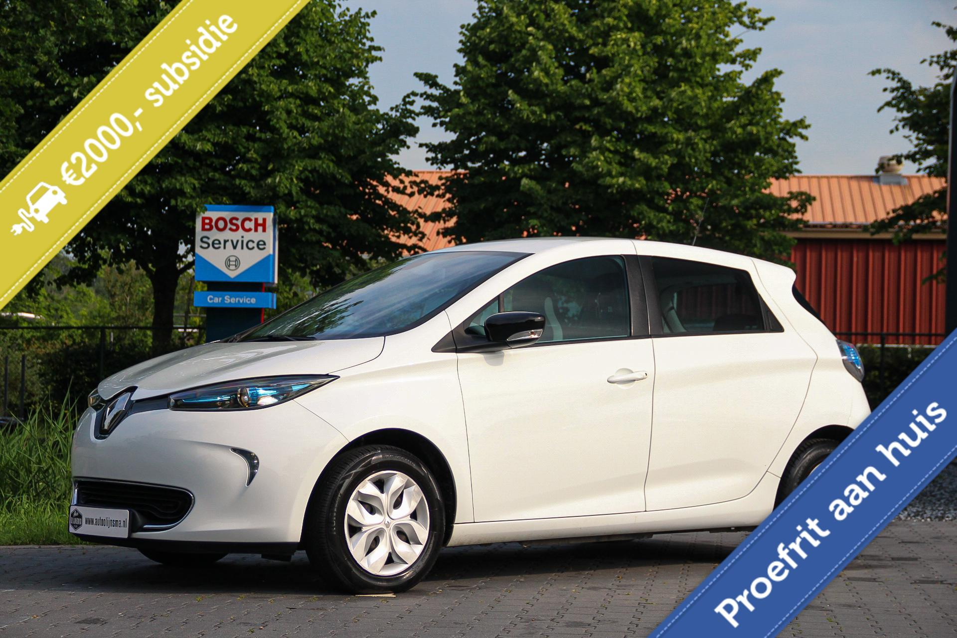 Renault Zoe  41 kWh Life (Accuhuur) Airco|Cruise|Standkachel