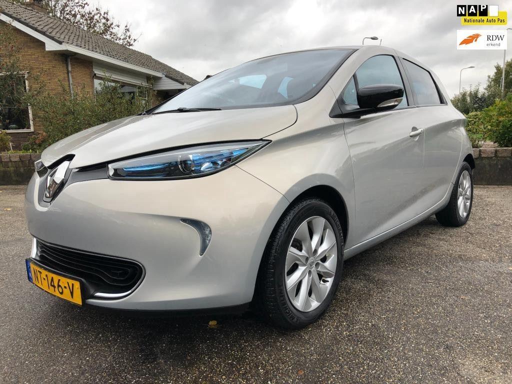 Renault Zoe Q210 Zen Quickcharge 22 kWh (ex Accu) * 2e Eig. / Navigatie / LM Velgen *