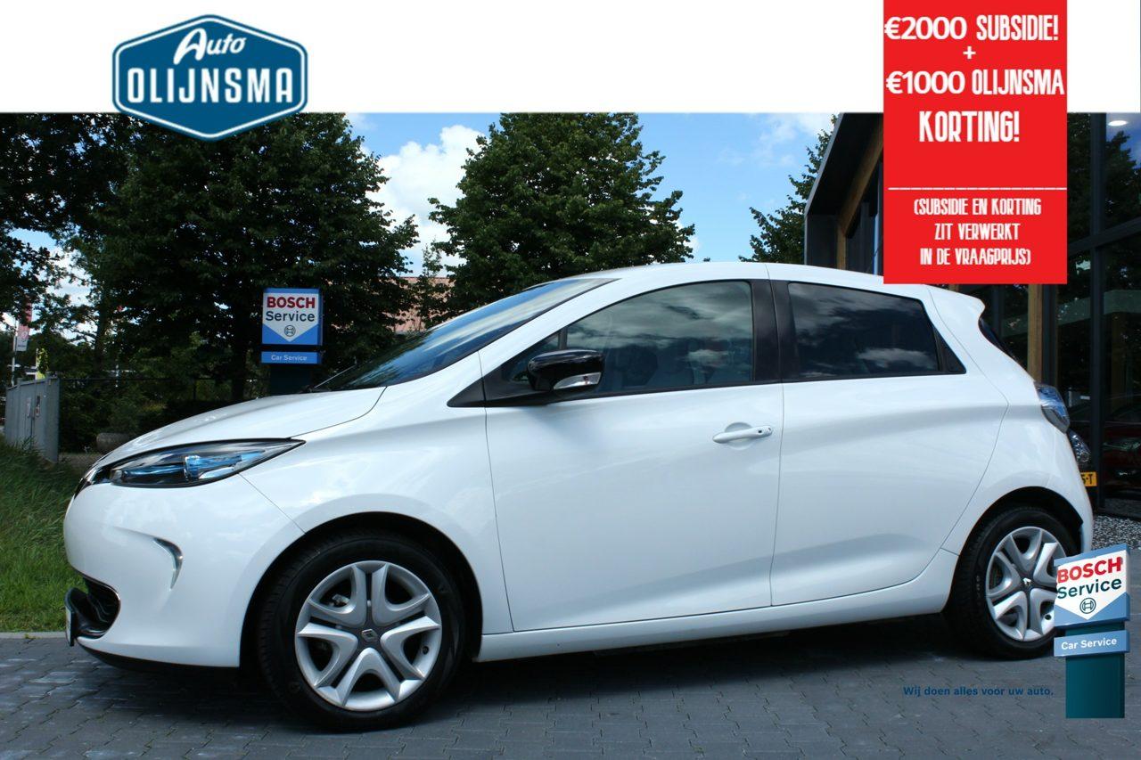 RenaultZoe - Life 41 kWh (ex Accu) Navi Clima Subsidie