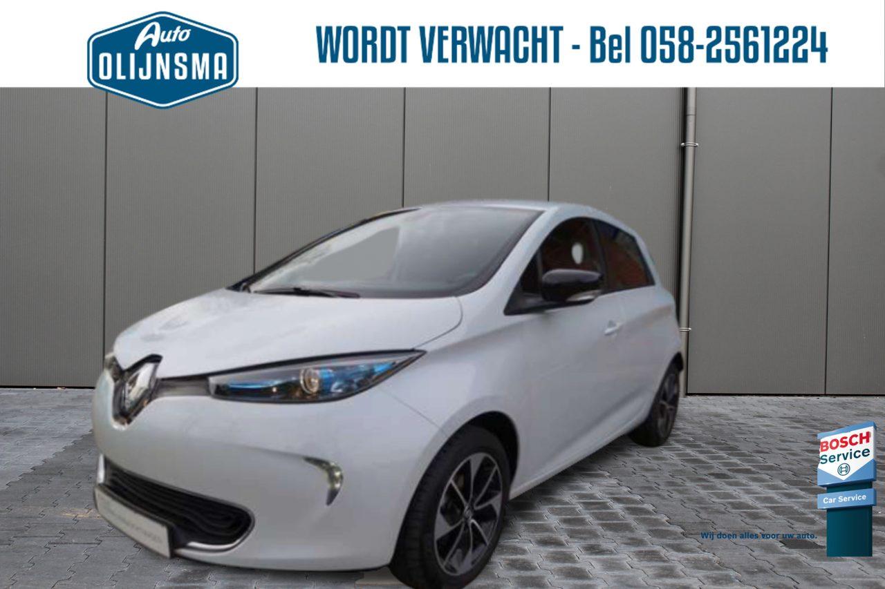 RenaultZoe - Zen 41kWh PDC Clima Navi 4% bijtelling €2000 subsidie Bat.Huur
