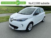Renault Zoe marge komt geen BTW bij R90 Life 41 kWh (ex Accu)