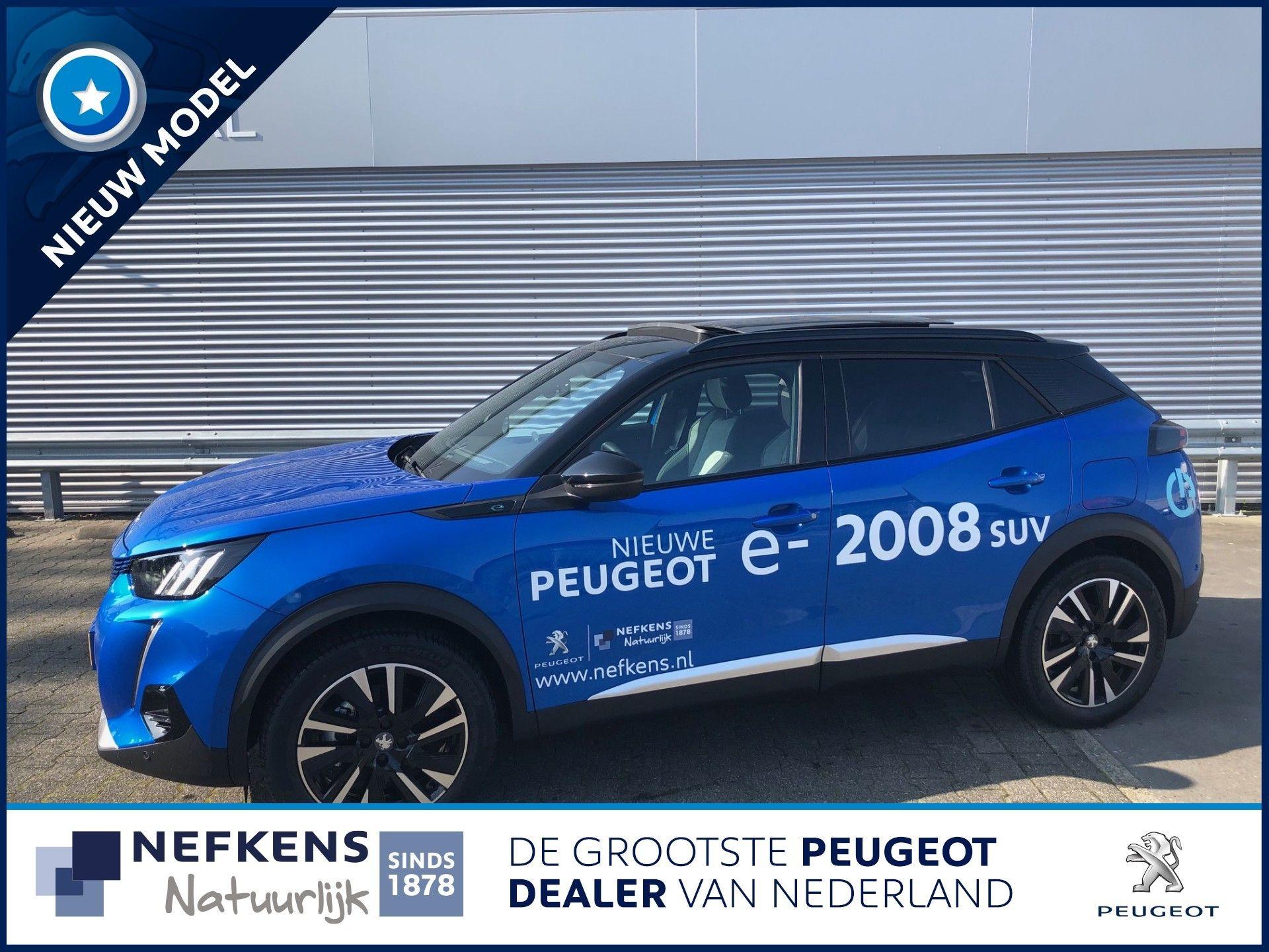 Peugeot 2008 EV 50kWh 136pk GT Première   RESERVEER NU EXCLUSIEF UW PROEFRIT!  