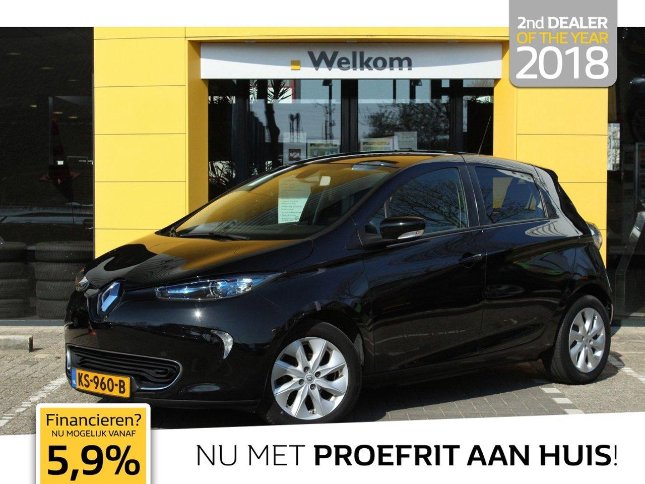 RenaultZoe - Q210 Intens Quickcharge 22 kWh (ex Accu) / 4% / CRUISE / CLIMATE / 1E EIGENAAR / 64