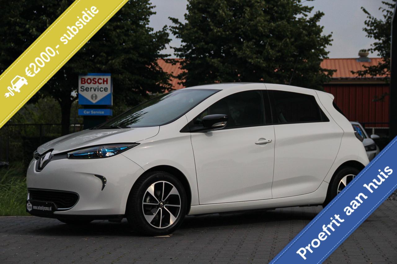 Renault Zoe Intens 41 kW(ex.Accu) PDC Clima Navi €2000Subsidie