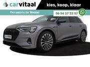 Audi E-tron 55 quattro !!! advanced Pro Line S Zwart optiek, Lederen bekleding, S-line interieur 4% Bijtelling
