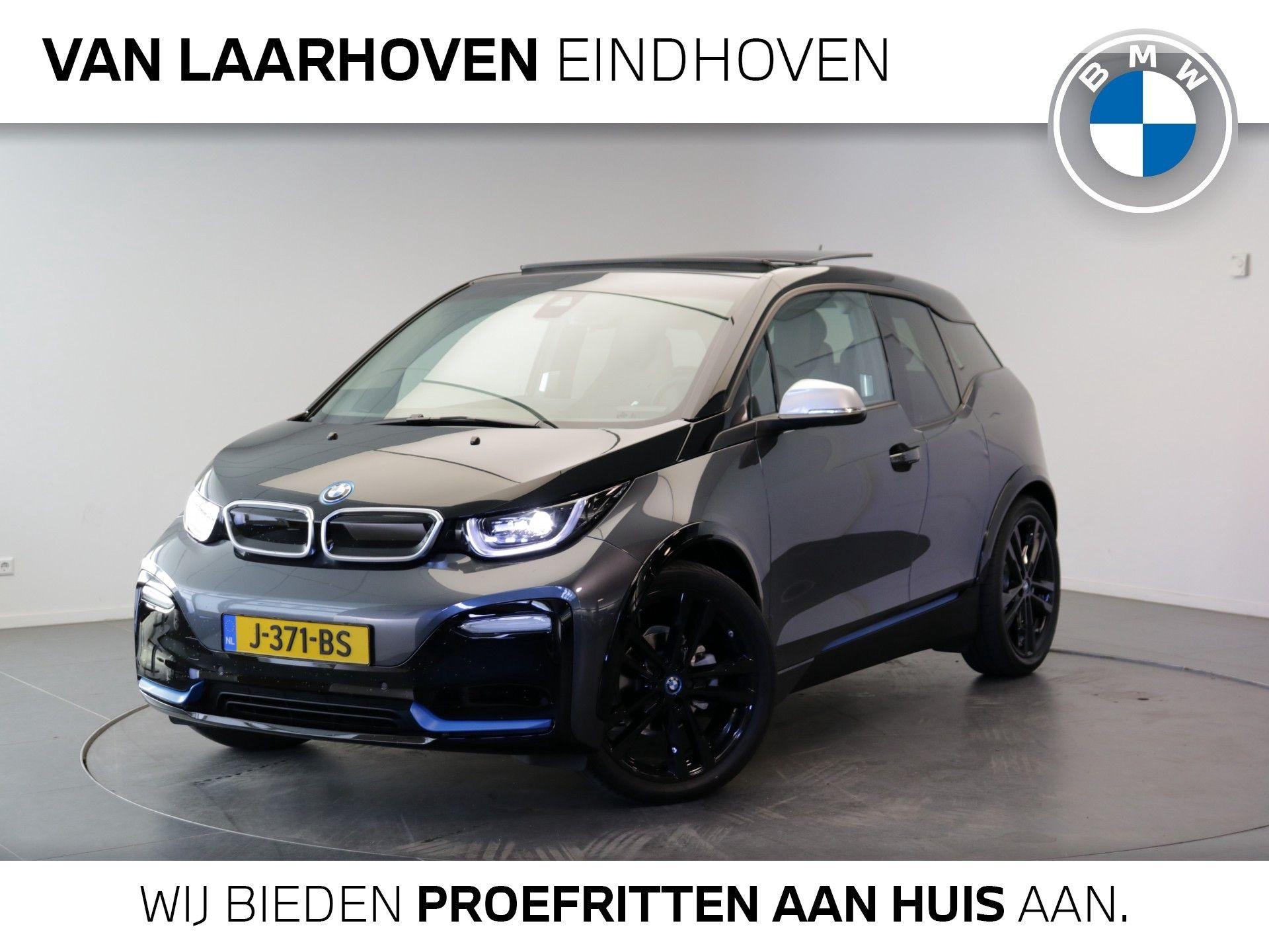BMW i3 S Executive Edition 120Ah 42 kWh Comfort pack advanced / Connectivity Pack / Elektrisch verwarmde voorstoelen / Warmte pomp / BMW i Interieurdesign Suite / Elektrisch glazen schuif-/kanteldak