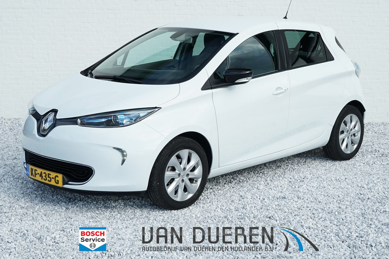 RenaultZoe - Q210 Intens Quickcharge 22 kWh (ex Accu, deze huurt u per mnd)