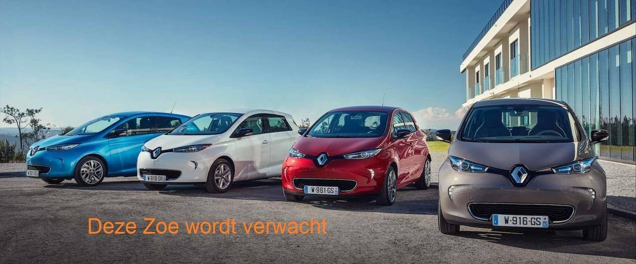 Renault ZOE geen BTW/ marge R90 Life 41 kWh (ex Accu)