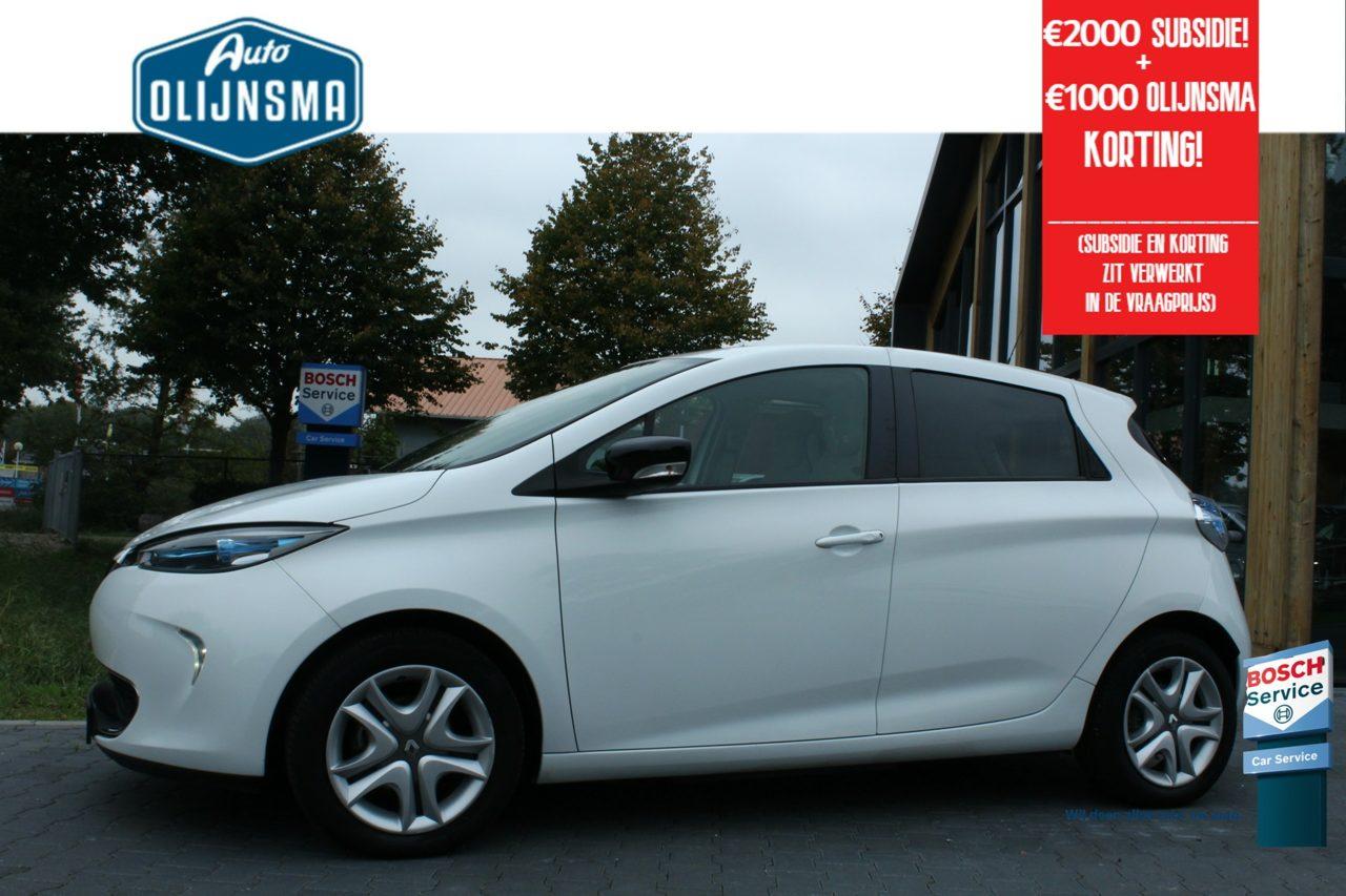 RenaultZoe - Life 41 kWh (ex Accu)|Navi|Clima|Subsidie