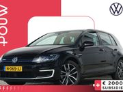 Volkswagen E-Golf E-DITION 136pk + EXCL. BTW € 31.350,- + Warmtepomp + Achteruitrijcamera