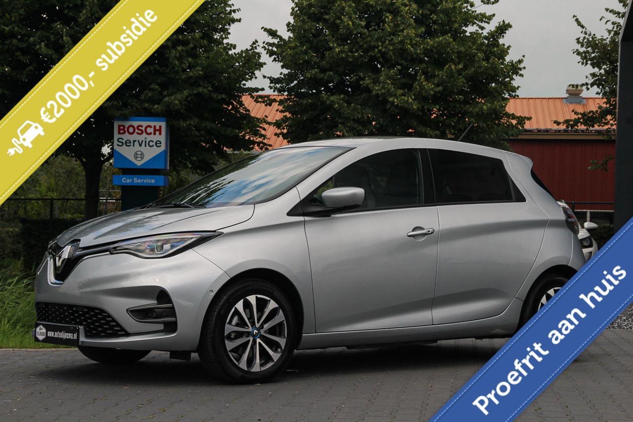 Renault Zoe R110 Intens 52 kWh Koopaccu Apple carplay Airco Parkeercamera BTW €2000Subsidie