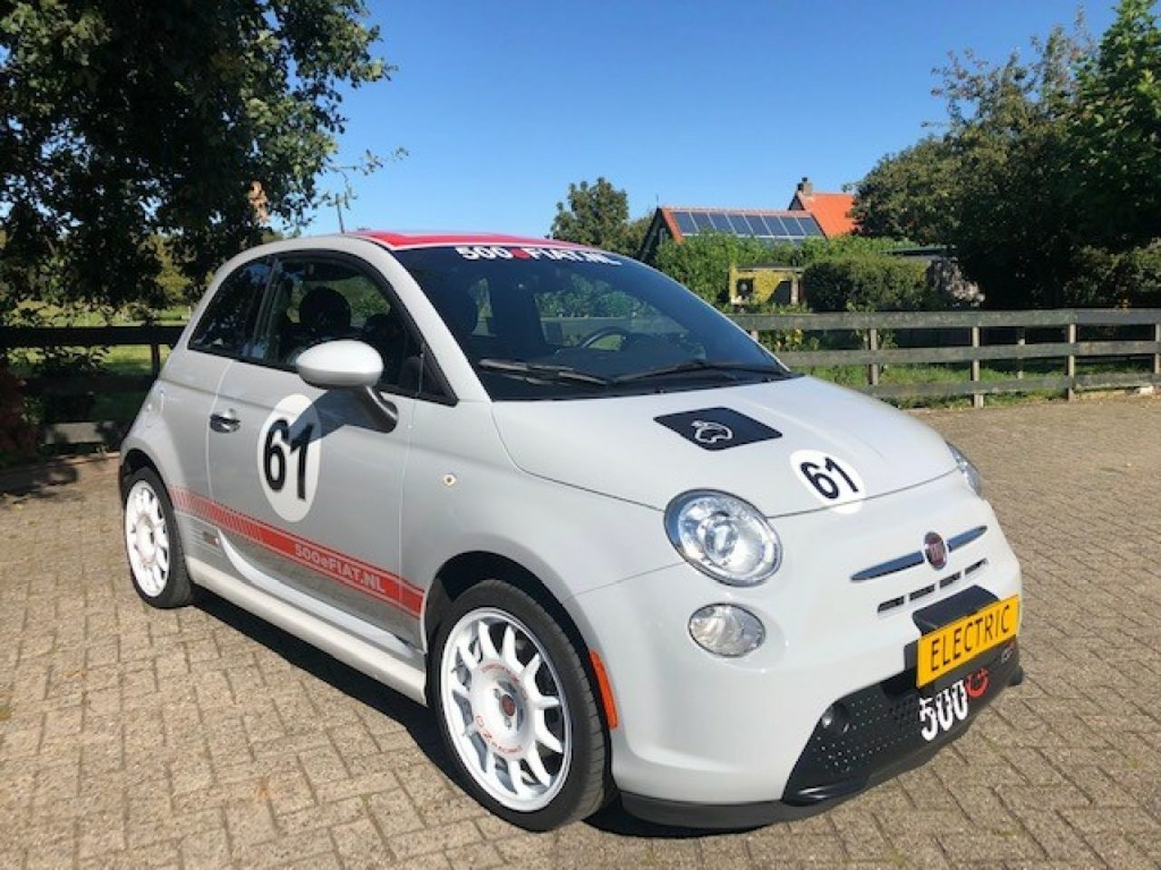 Fiat 500 E - Trofeo Abarth- OZ Wielen 2017 Ex BTW