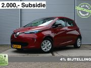 Renault Zoe R90 Life 41 kWh (Accu huur) 11.569excl. BTW