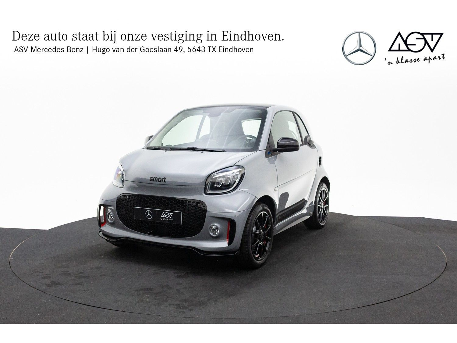Smart Fortwo EQ Edition One Stoelverwarming, Lederen bekleding