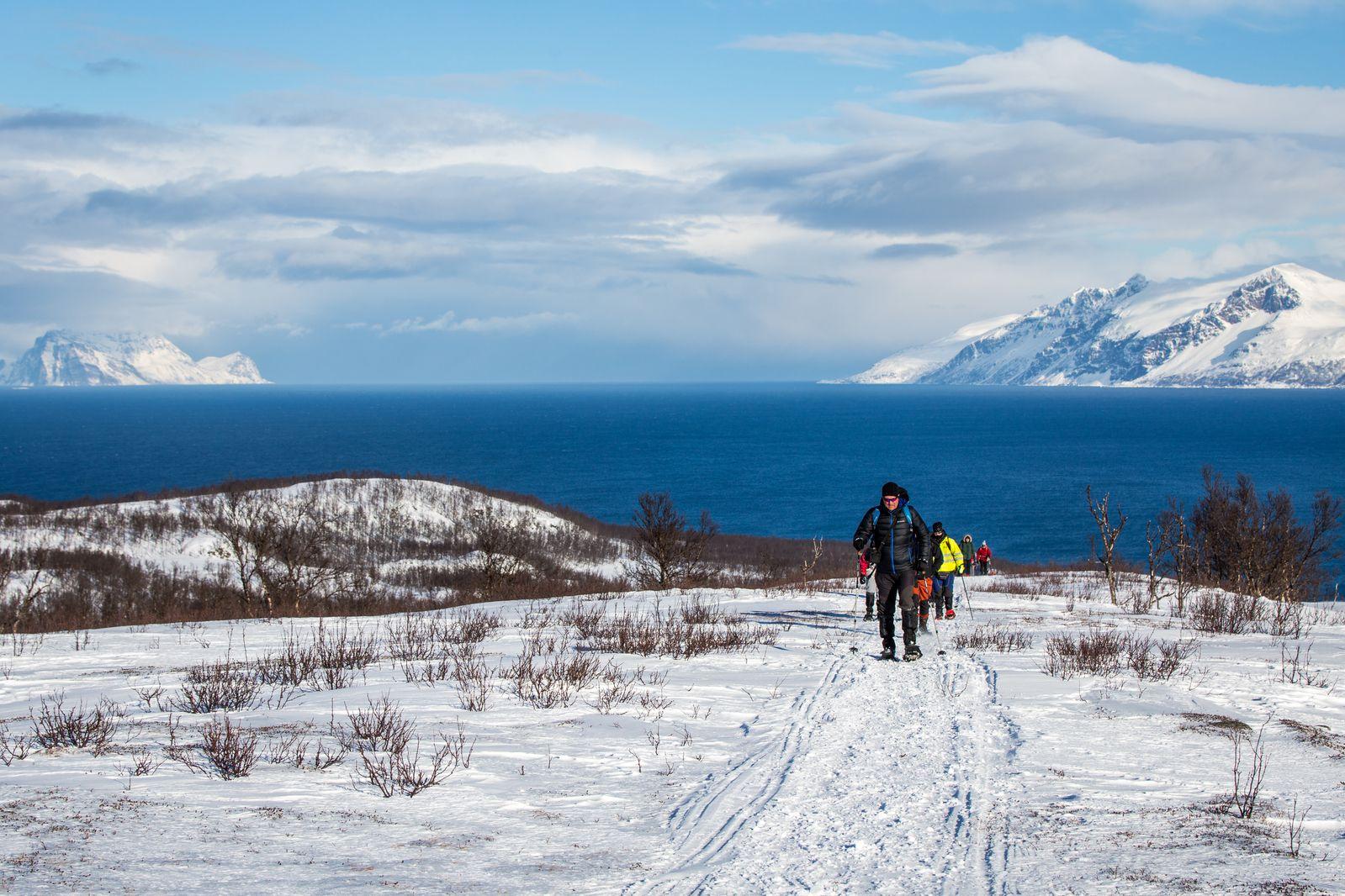 North Norway, Aurora Borealis, Hike & Sail
