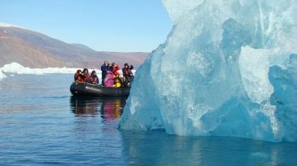 Fly & Sail - Scoresby Sund - Aurora Borealis
