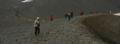 Hiking auf Deception Island#}