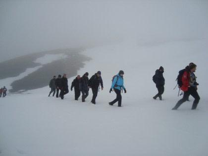Hike to Kvalrossbukta on Jan Mayen#}