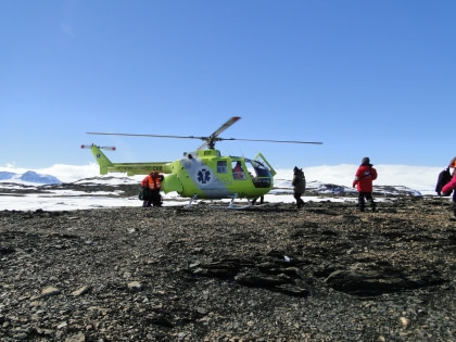 Weddell Sea Helicopter Flights#}