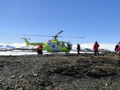 Helikopterflüge über dem Weddell-Meer#}