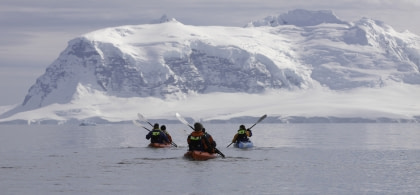 Kayaking in Antarctica#}