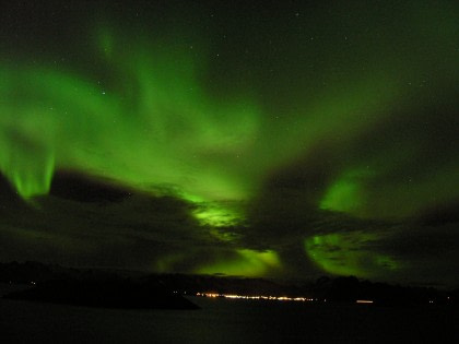 Scoresby Sund - Aurora Borealis