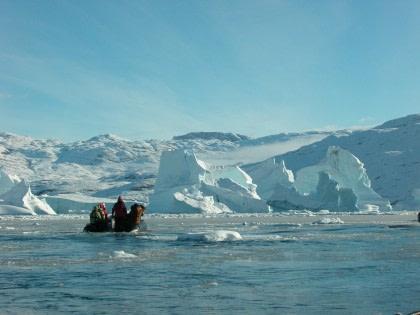 Scoresby Sund - Aurora Borealis Fly & Sail