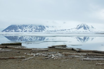 Norte de Spitsbergen, verano ártico