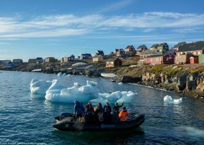 Spitzbergen – Nordost Grönland, Nordlicht