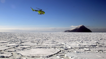 Ross Sea Helicopter Flights#}