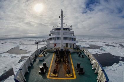 Nord Spitzbergen,  Auf der Suche nach dem Eisbären- & Packeis