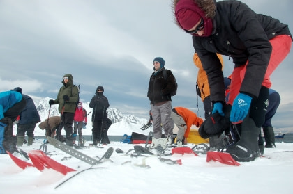 North Spitsbergen - Basecamp, Free kayaking, snowshoe/hiking, photo workshop