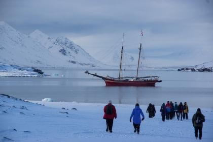 Norte de Spitsbergen, primavera ártica