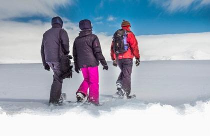 Schneeschuhwandern#}