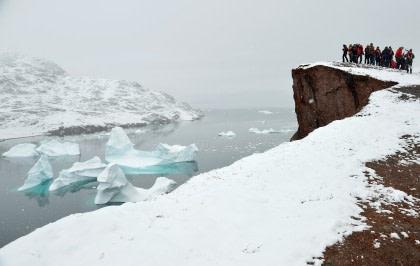 Oost Groenland – Scoresby Sund, Aurora Borealis