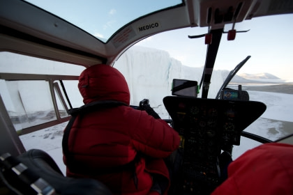 Ross Sea, incl. Helikopters