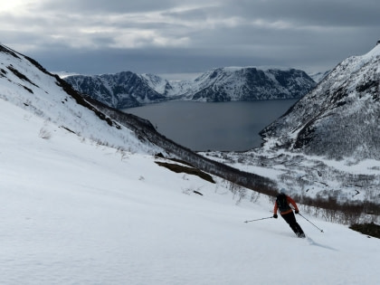 Alpine Peaks of North Norway, Ski & Sail