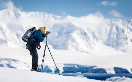 Antarctica - 'Basecamp'- free camping, kayaking, snowshoe/hiking, mountaineering, photo workshop